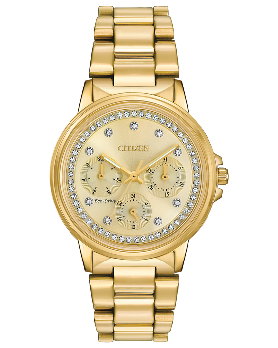 Citizen Silhouette Crystal Ladies Watch FD2042-51P
