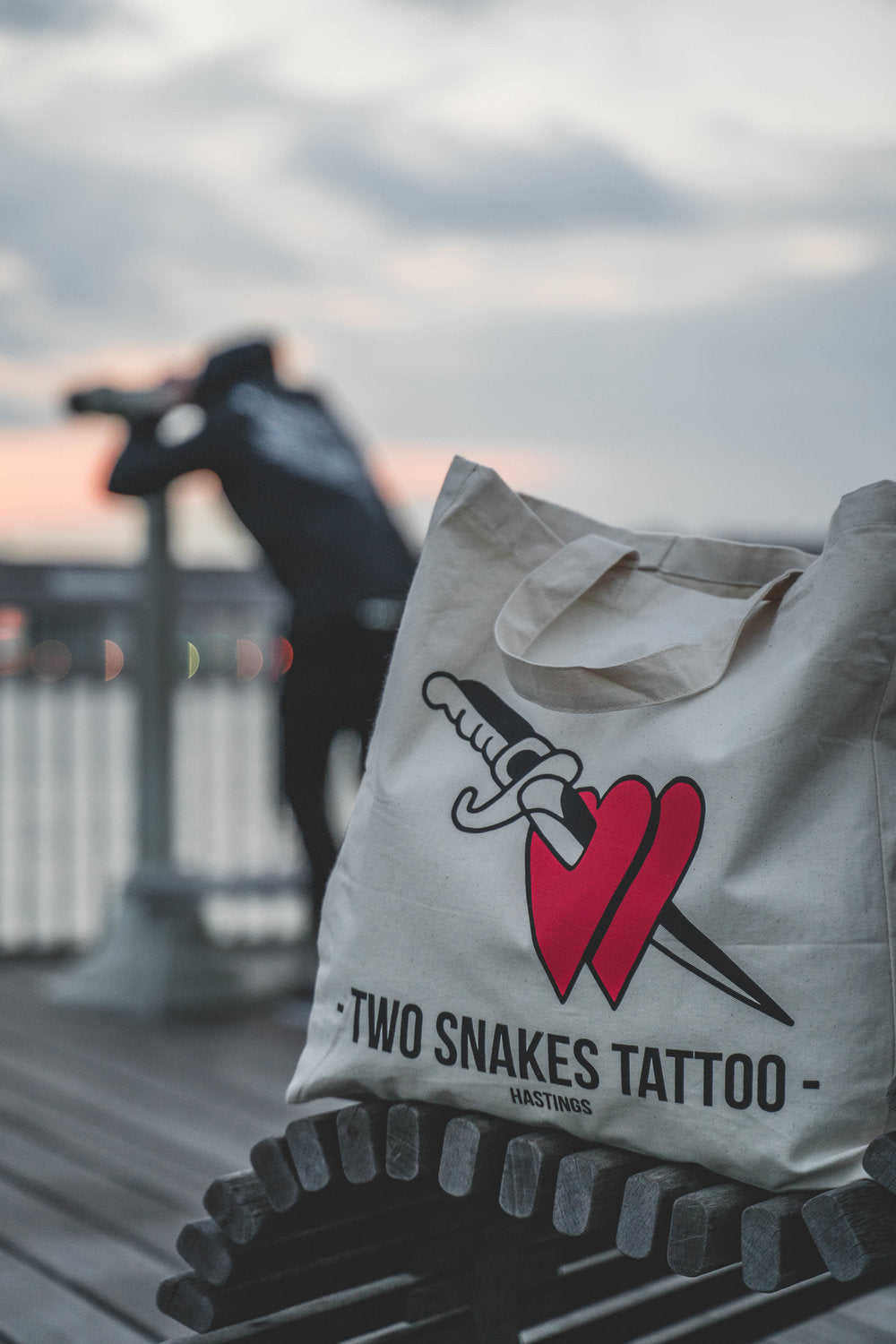 TWO SNAKES X ALEXIS CAMBURN TOTE BAG
