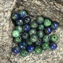 Load image into Gallery viewer, Lapis Chrysocolla beads, Wholesale Gemstone, 4-12mm 5-200pcs