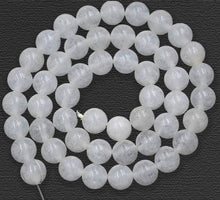 Load image into Gallery viewer, Natural Jade Beads, White Jade Beads, White Gemstone Beads, White Beads,  Round Natural Beads, 15''5 strand, 2mm 3mm 4mm 6mm 8mm 10mm 12mm - RainbowShop for Craft
