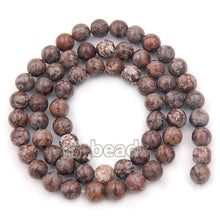 Load image into Gallery viewer, Natural Coffee Jasper Brown Beads, Gem 4mm 6mm 8mm 10mm Stone Round Jewelry Gemstone Beads, For Jewelry making and Beading - RainbowShop for Craft