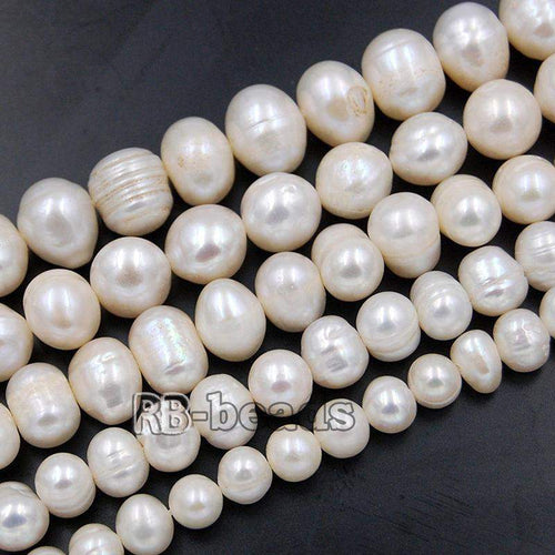 Natural Freshwater Pearl Freeform Loose Charm Beads 5mm 6mm 7mm 8mm 10mm Gemstone Jewelry beads Loose beads, 14