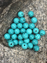 Load image into Gallery viewer, Blue Turquoise beads, Wholesale Gemstone Beads, Round Natural Stone Jewelry Beads, 4mm 6mm 8mm 10mm 12mm 5-200pcs - RainbowShop for Craft
