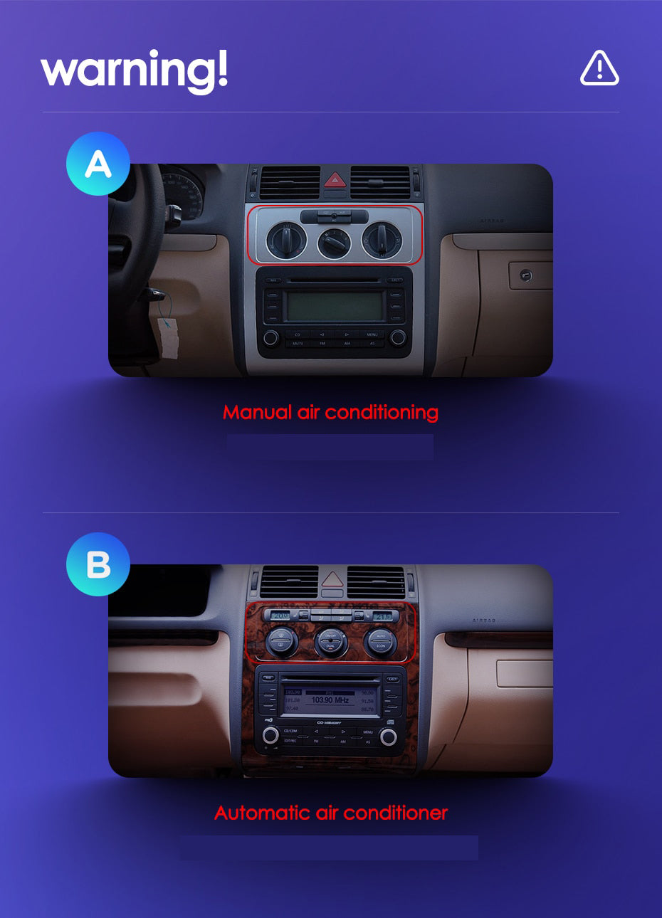 Manual or Auto AC Selection