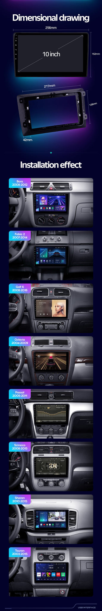 Aftermarket car head unit upgrade apple android samsung