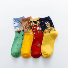 Load image into Gallery viewer, Art Socks - Veronique Collection