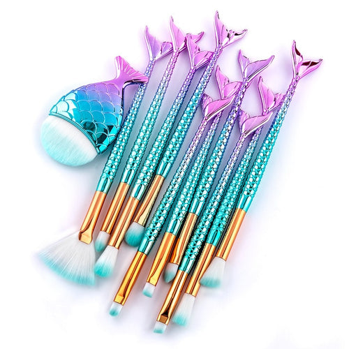 Mermaid Brush Set - Veronique Collection