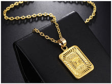 Load image into Gallery viewer, Initial Necklace - Veronique Collection