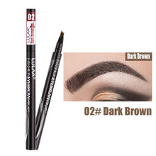 Load image into Gallery viewer, 4 Head Microblading Eyebrow Pencil - Veronique Collection