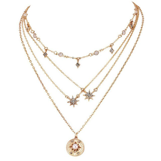 Starry Necklace - Veronique Collection