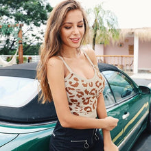 Load image into Gallery viewer, Leopard Crop Top - Veronique Collection