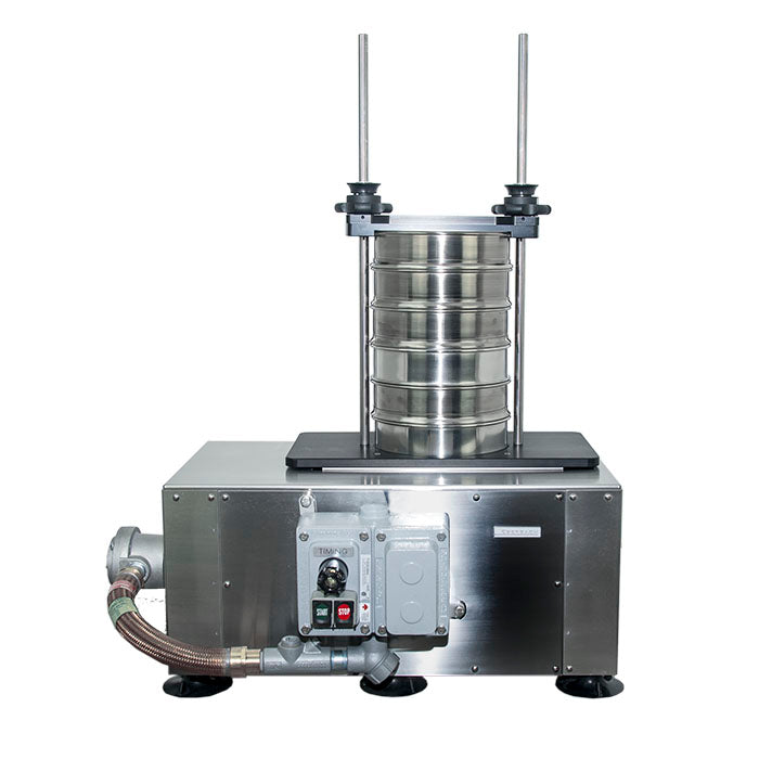 E61055 Stainless Steel Explosion Proof Sieve Shaker with E6100.A.S10 Platform - Eberbach Lab Tools