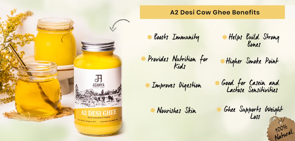 Benefits of A2 Cow Ghee