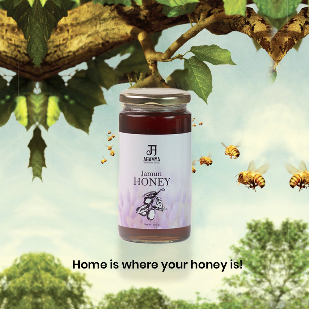 Raw & Natural Jamun Honey 550g