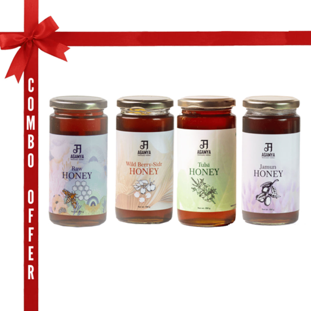 Honey 350g – Combo pack of four