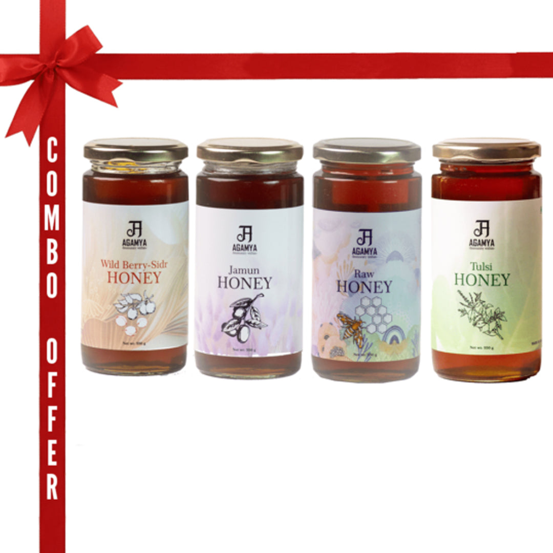 Honey 550g – Combo pack of four