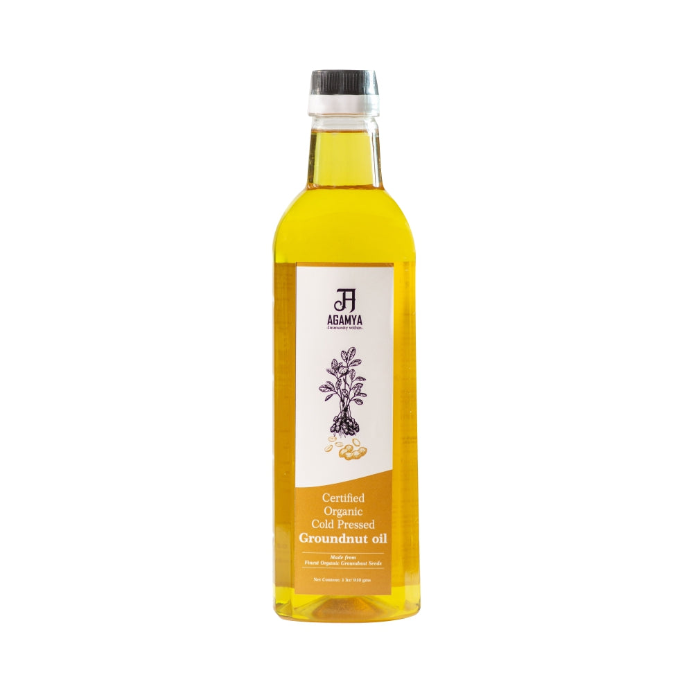 Certified Organic Groundnut Oil 1L