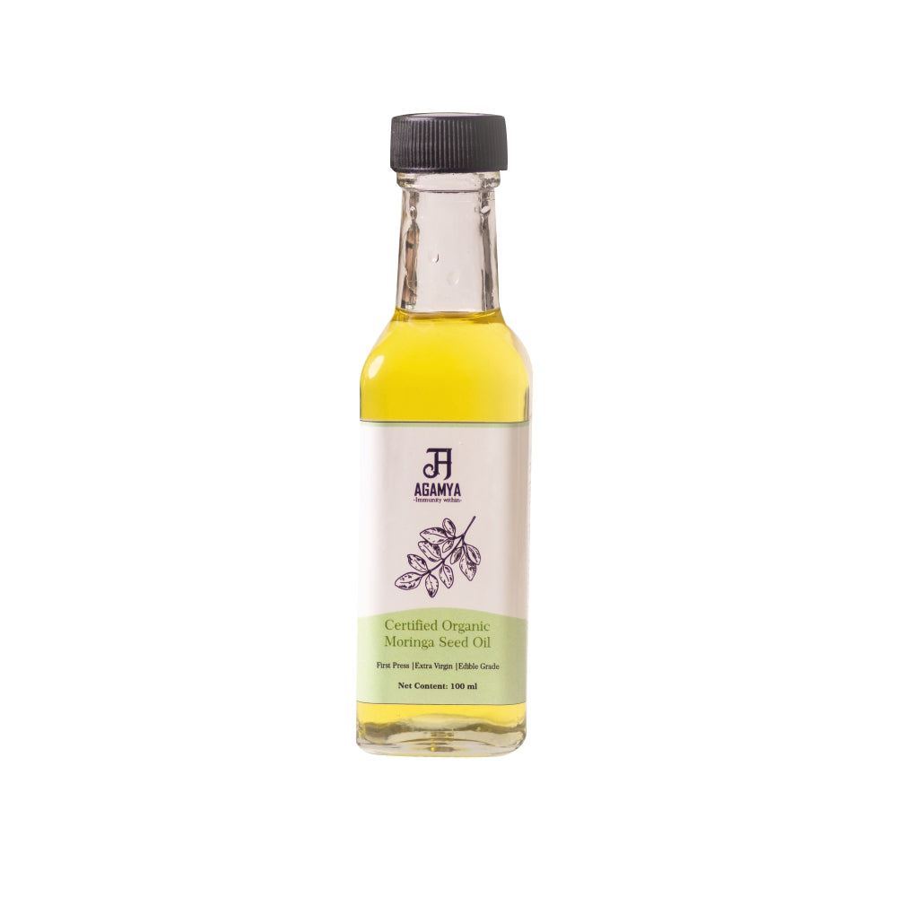 Certified Organic Moringa Oil 100ml