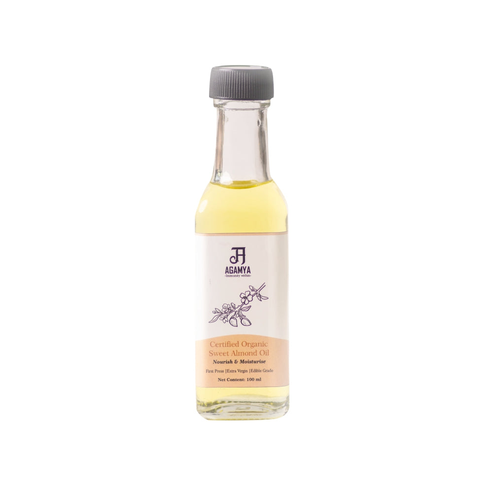 Certified Organic Almond Oil 100ml