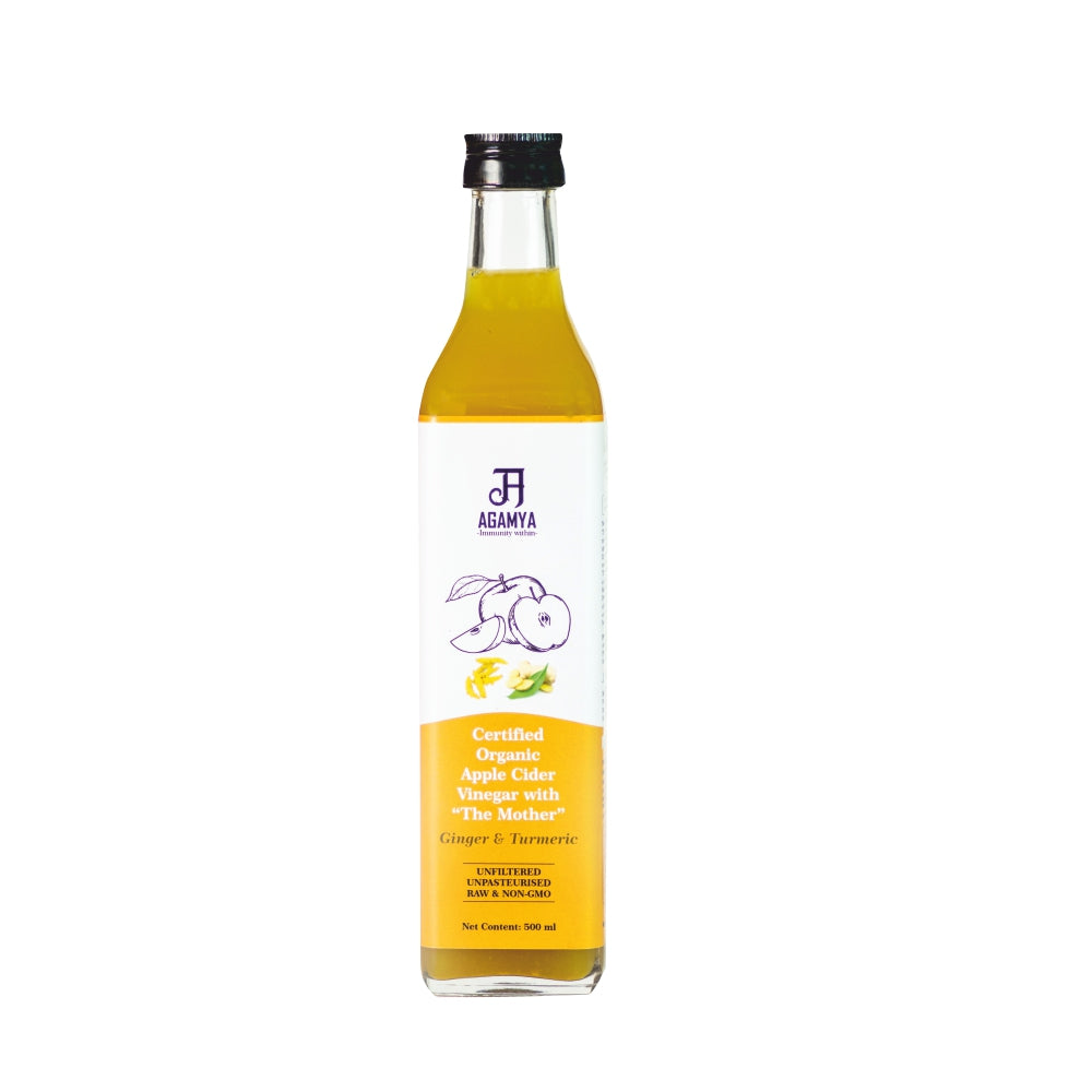 Certified Organic ACV Ginger & Turmeric 500ml