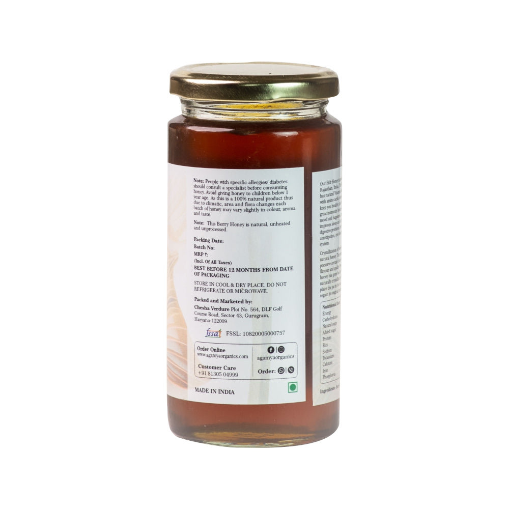 Raw & Natural Berry(SIDR) Honey 350g