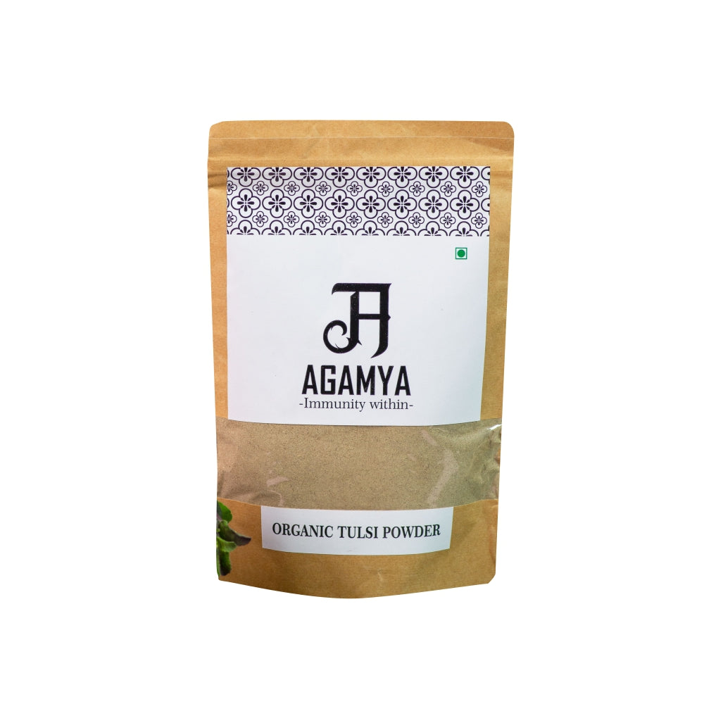 Certified Organic Tulsi Powder 100g
