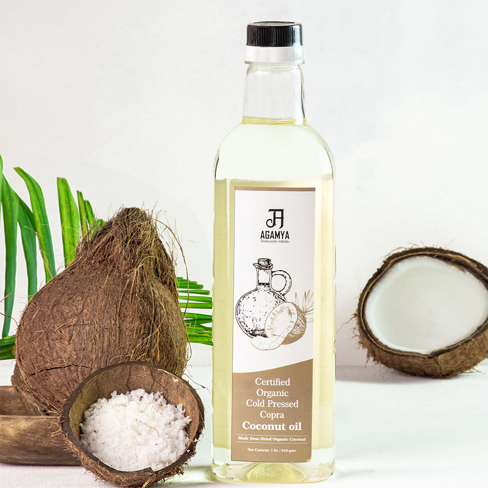 Certified Organic Copra Coconut Oil 1L