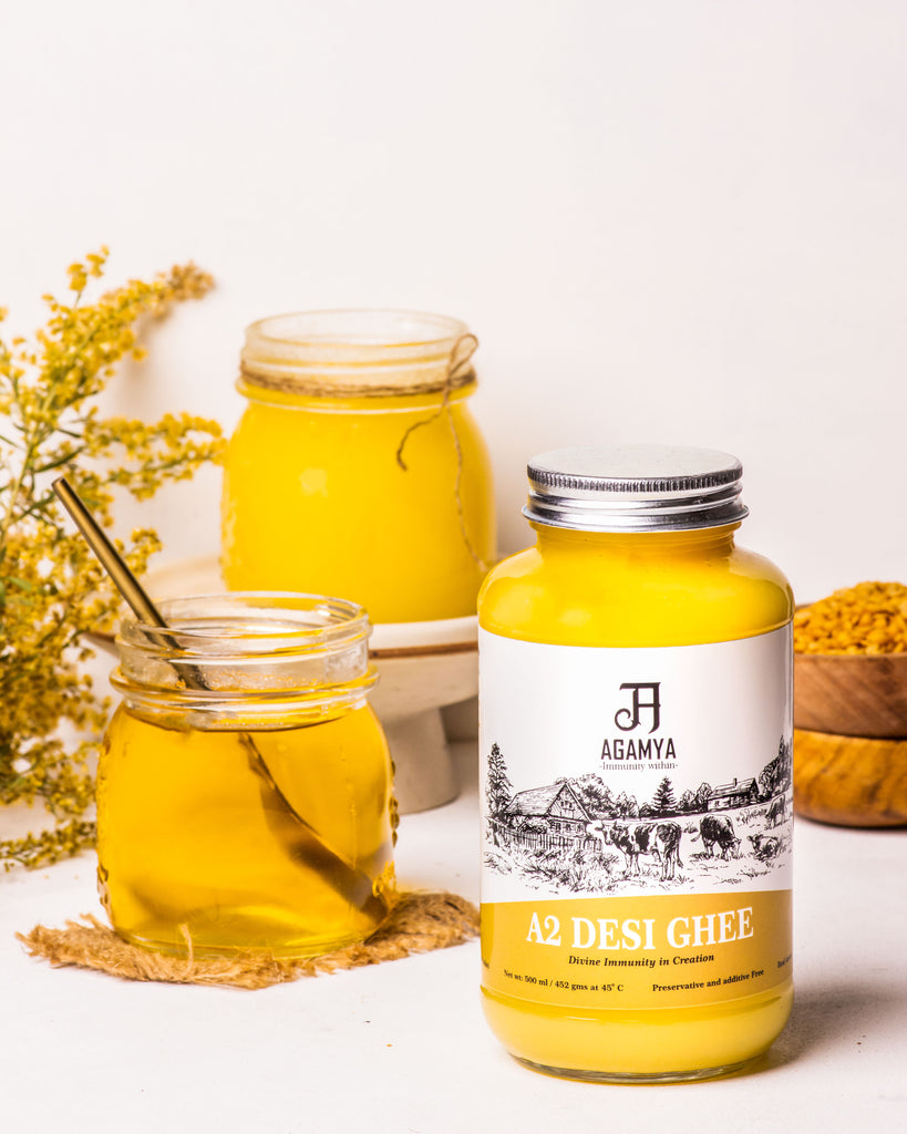 A2 desi cow ghee -Pack of two (500ml each)