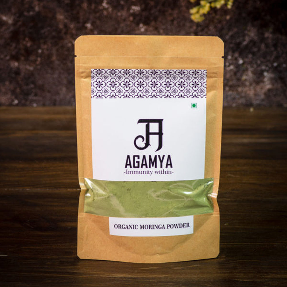 Certified Organic Moringa Powder 100g