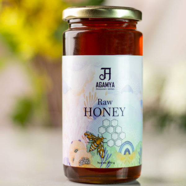 Raw Honey (550g)