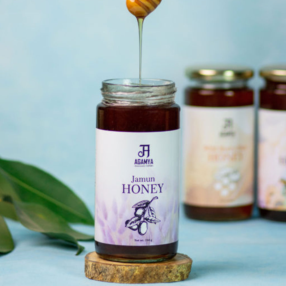 Raw & Natural Jamun Honey 350g
