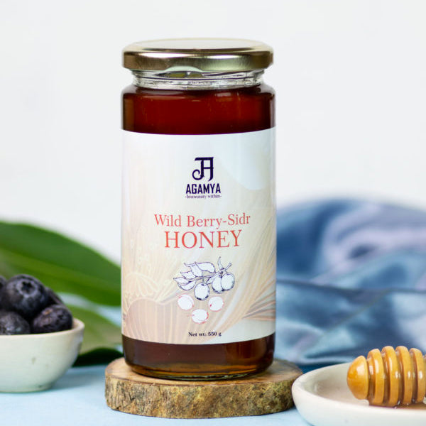 Raw & Natural Berry(SIDR) Honey 550g