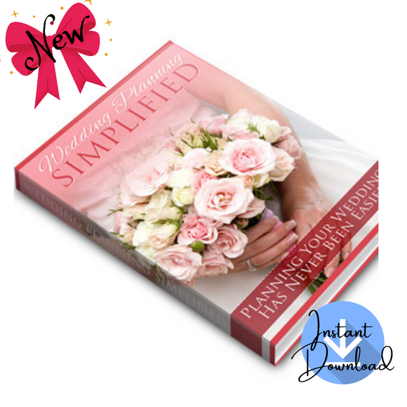 Wedding Planning Simplified (52 Pages) - Digital Download