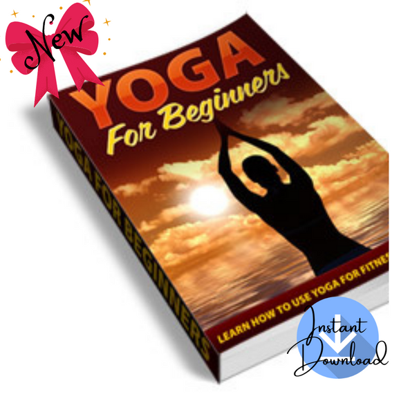 Yoga For Beginners (45 Pages) - Digital Download