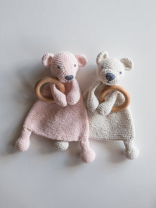 Crochet Teddy Teethers