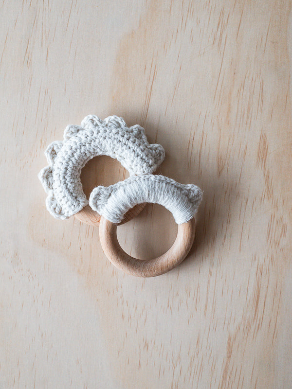 Crochet Teething Rings (Set of 2)