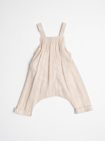 Linen Overall - Natural