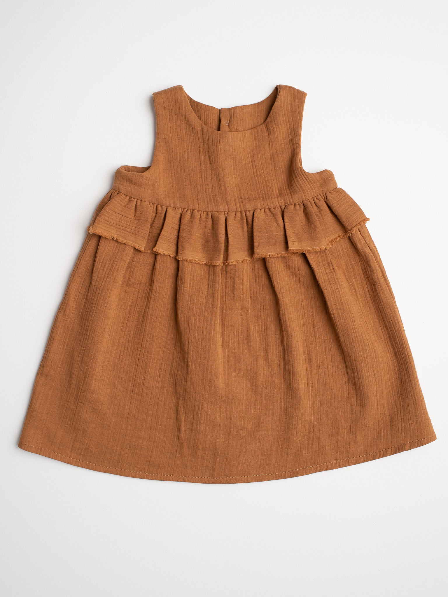 Lucinda Dress - Ochre