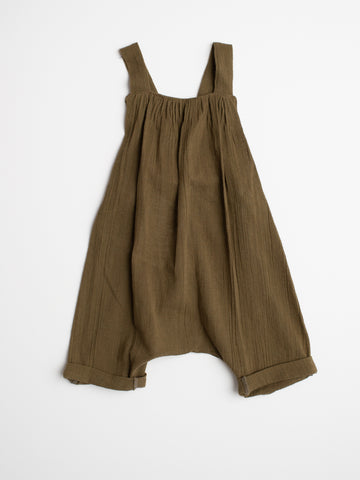 Overalls - Olive