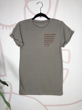 Load image into Gallery viewer, SINDY -ForgiveThem Tee-