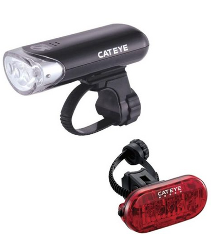 Cateye Front & Rear Light Set