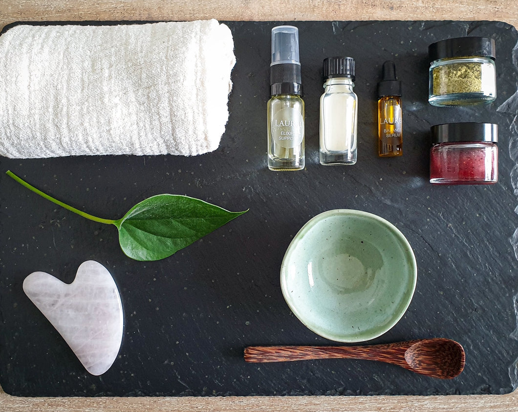 Guided Home Spa Facial Experience