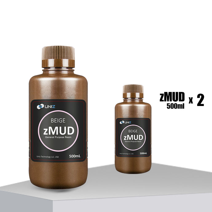 zMUD BEIGE 500ml, 2 Pack