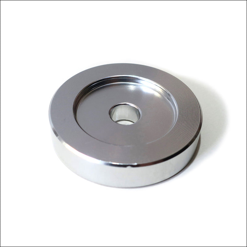"45 Adapter for 7"" Vinyl Records Aluminium"