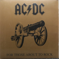 AC/DC 'For Those About To Rock' 180g Vinyl LP