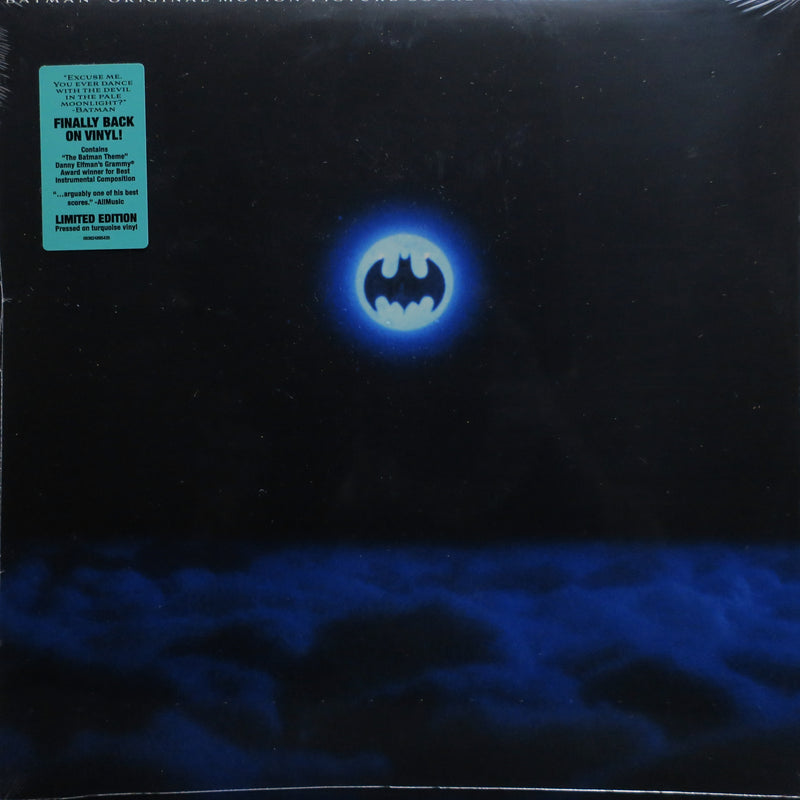 'BATMAN' Soundtrack by Danny Elfman TURQUOISE Vinyl LP