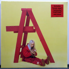 BILLIE EILISH 'Don't Smile At Me' RED Vinyl LP