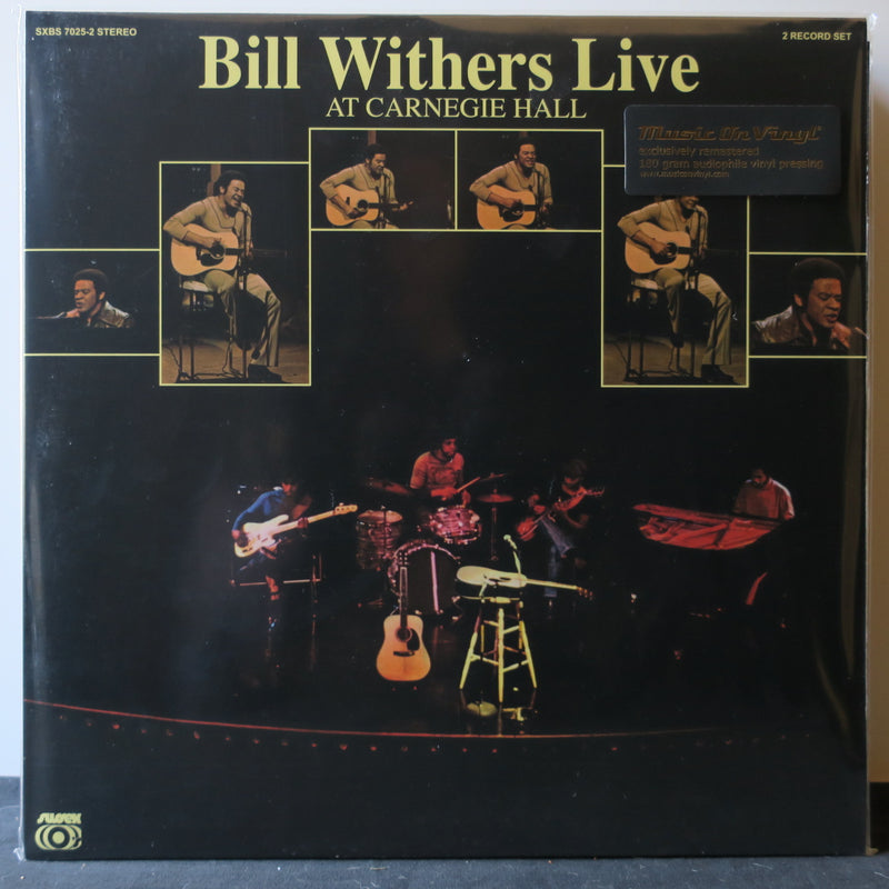 BILL WITHERS 'Live At Carnegie Hall' 180g Vinyl 2LP