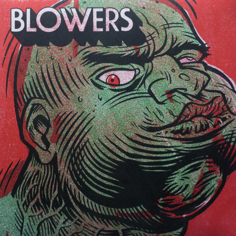 BLOWERS s/t POISON GREEN Vinyl LP (Garage/Punk)