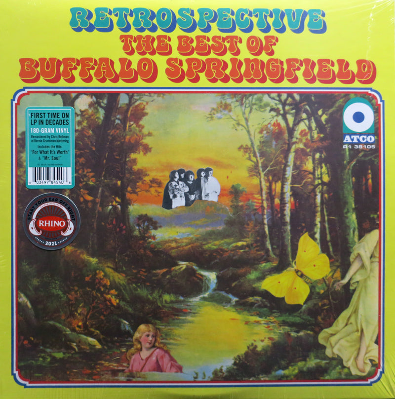 BUFFALO SPRINGFIELD 'Retrospective: Best Of' Vinyl LP